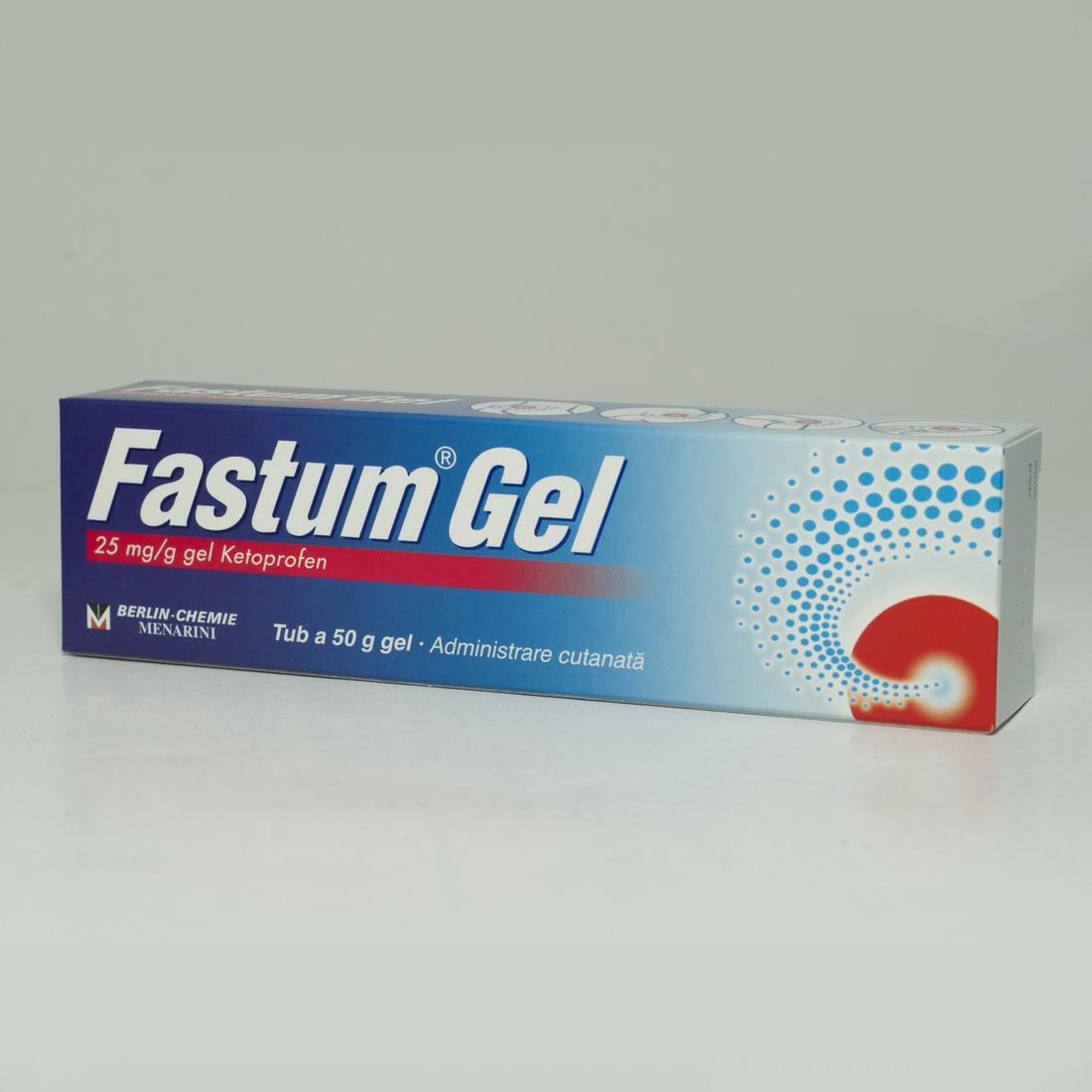 Fastum Gel Ketoprofen g, g, Berlin-Chemie Ag : Farmacia Tei