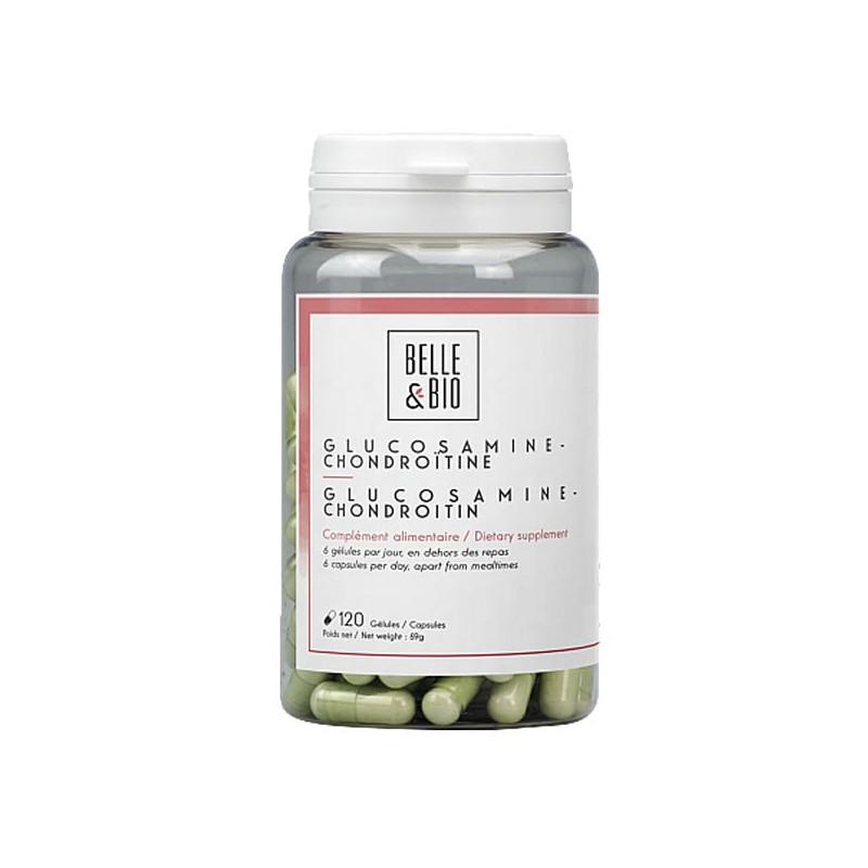 Tablete MSM de glucosamină cu condroitină suplimentară (fără coajă)