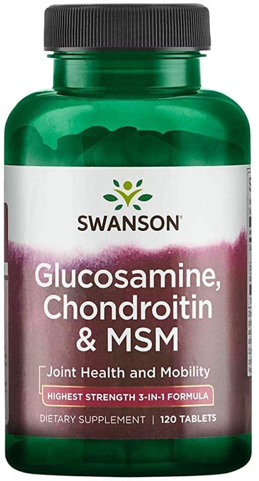 glucozamină ieftină și condroitină