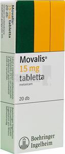 Pastile pentru dureri articulare Movalis Pret