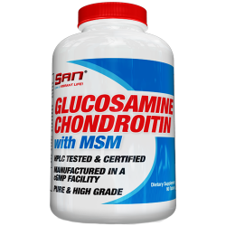 Cele mai bune medici Glucozamină, condroitină, MSM și acid hialuronic, 150 capsule