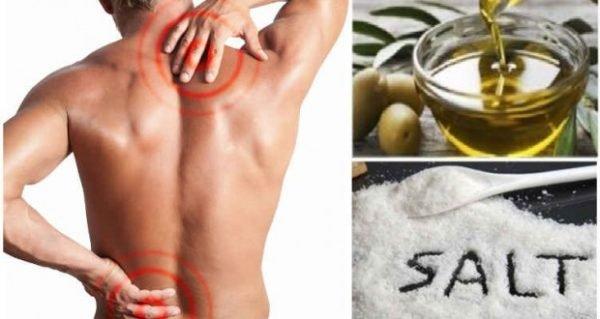 Durerile articulațiilor – remediu cu sare și ulei - Doza de Sănătate
