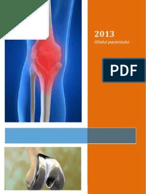 secvență de tratament pentru artroza genunchiului)