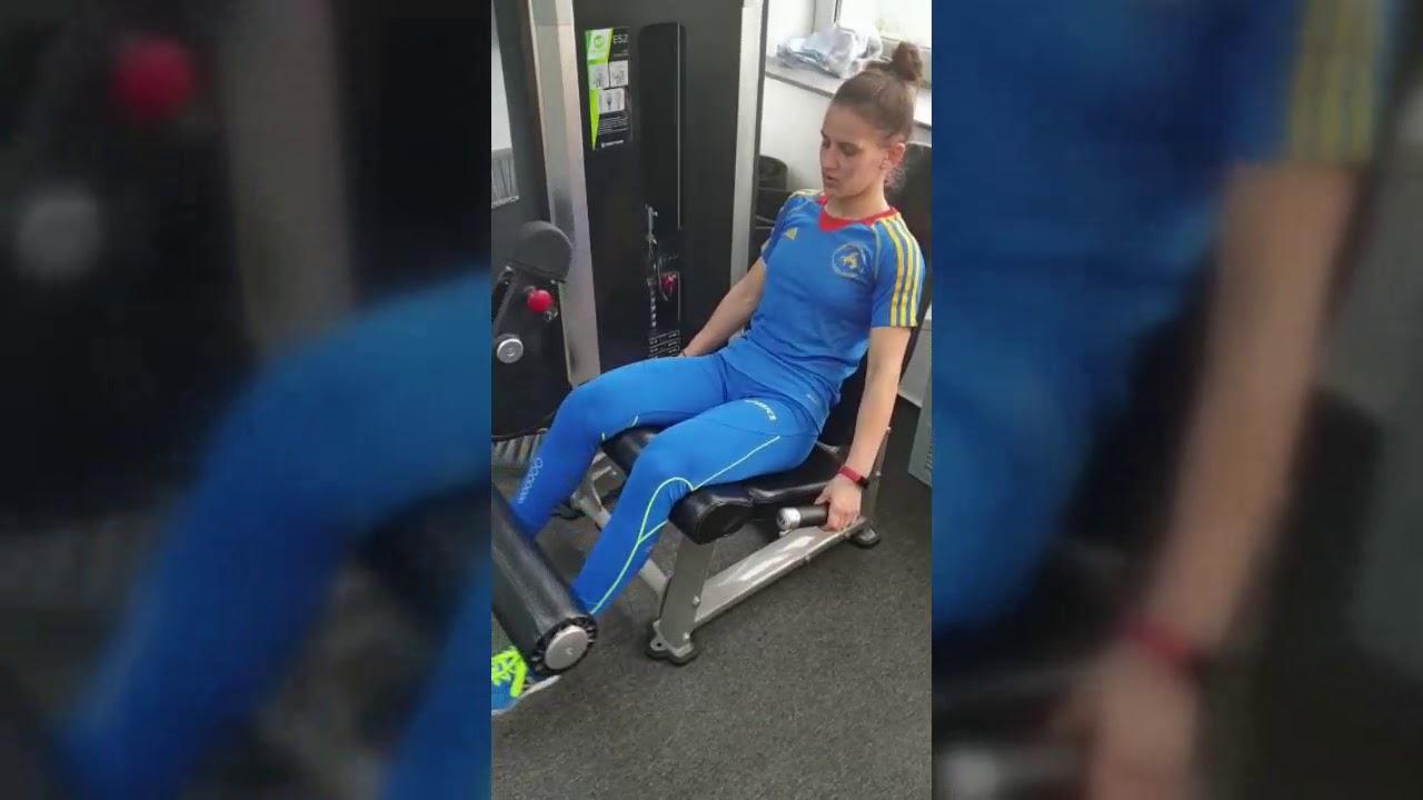 Statistici pentru accidentarea genunchiului sportivului)
