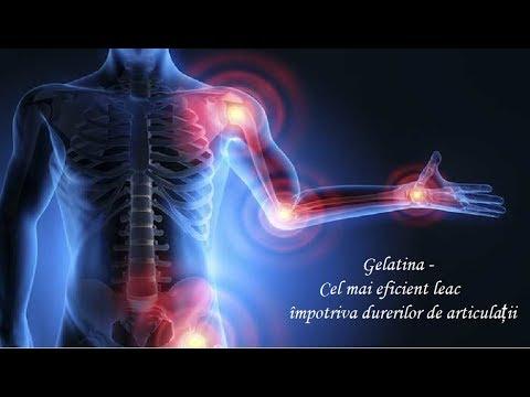 gelatină în tratamentul artrozei umărului