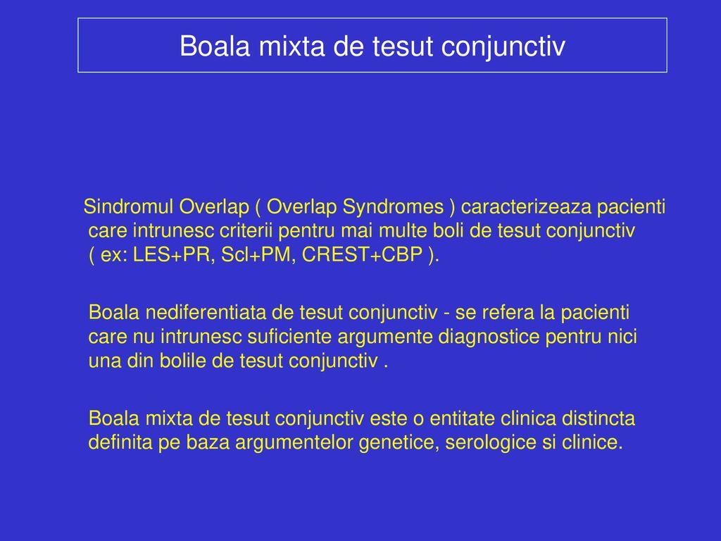 sindroame de boală a țesutului conjunctiv