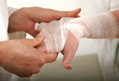 artroza deformantă post-traumatică a genunchiului 2 grade)