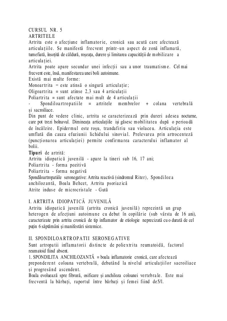 Artrita reumatoida juvenila (ARJ) - Kinetic