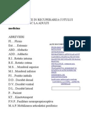 tratamentul pseudoartrozei ulnei