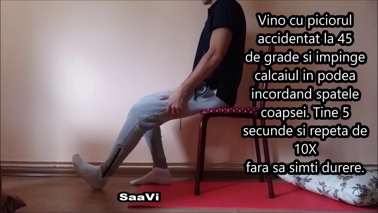 refacerea genunchiului după artrită)