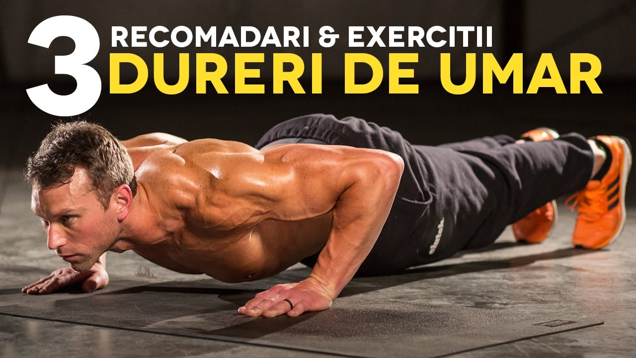 11 exerciții care ameliorează durerea de umeri