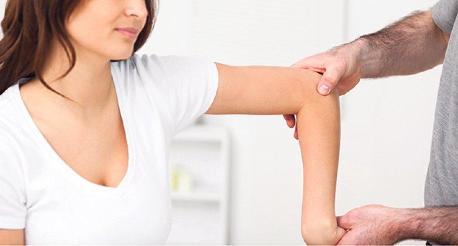 dureri de cot și amorțeală a brațului)