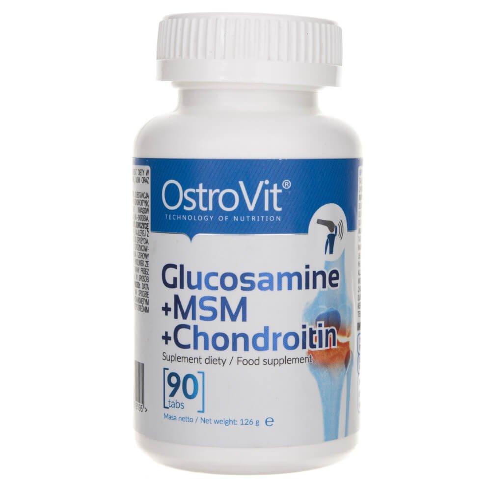 creme care conțin glucozamină și condroitină)