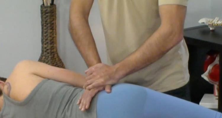 test de durere articulară)