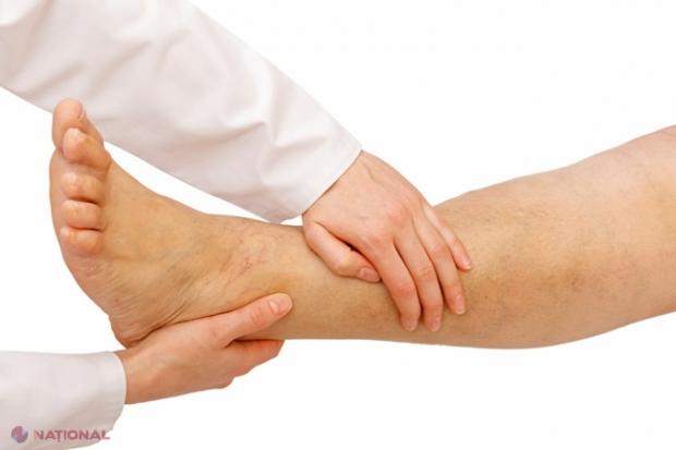 durere în articulațiile picioarelor degetelor)