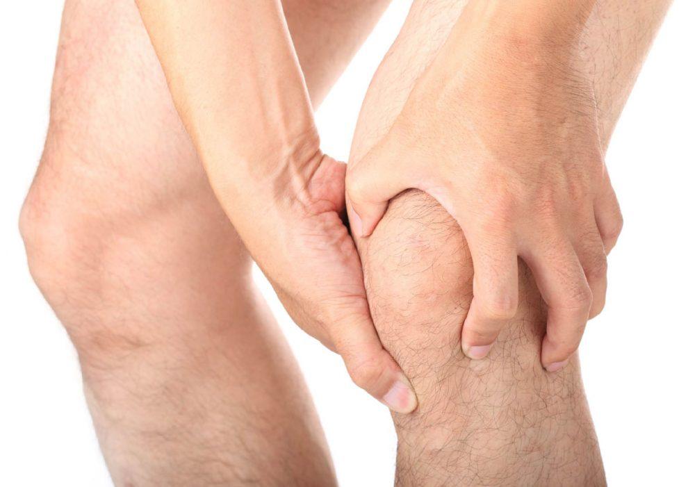 dureri ale picioarelor umflate în articulația genunchiului)
