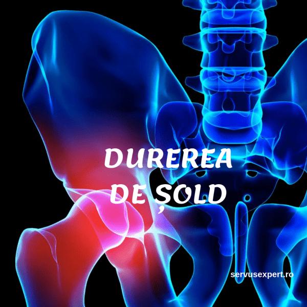 Durerea radiază din articulația șoldului în zona inghinală