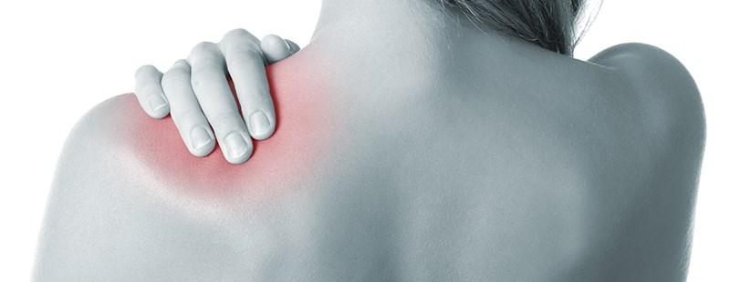 durere și apariție în articulația umărului stâng)