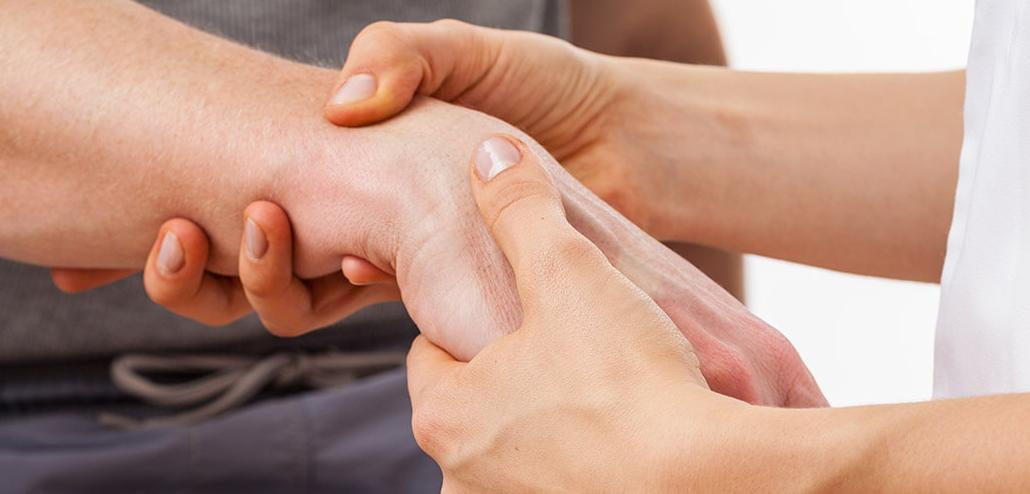 cât de rănit mâinile cu artrita artrita purulentă pe deget