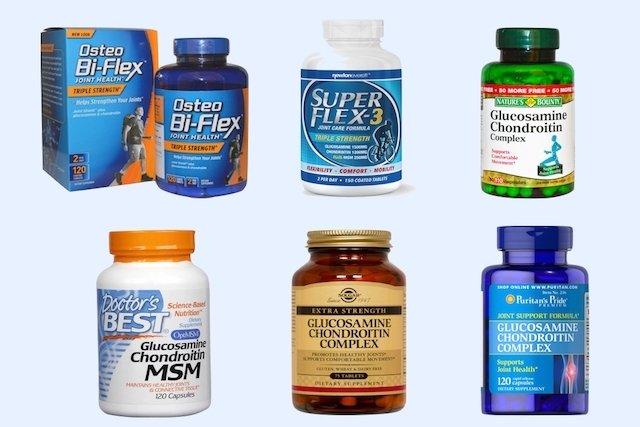 medicament complex de glucosamină condroitină