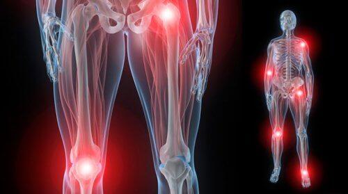 dureri la nivelul articulațiilor și rănit noaptea)